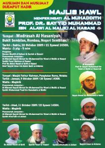Haul Sayyid Muhammad Alawi di Rembau